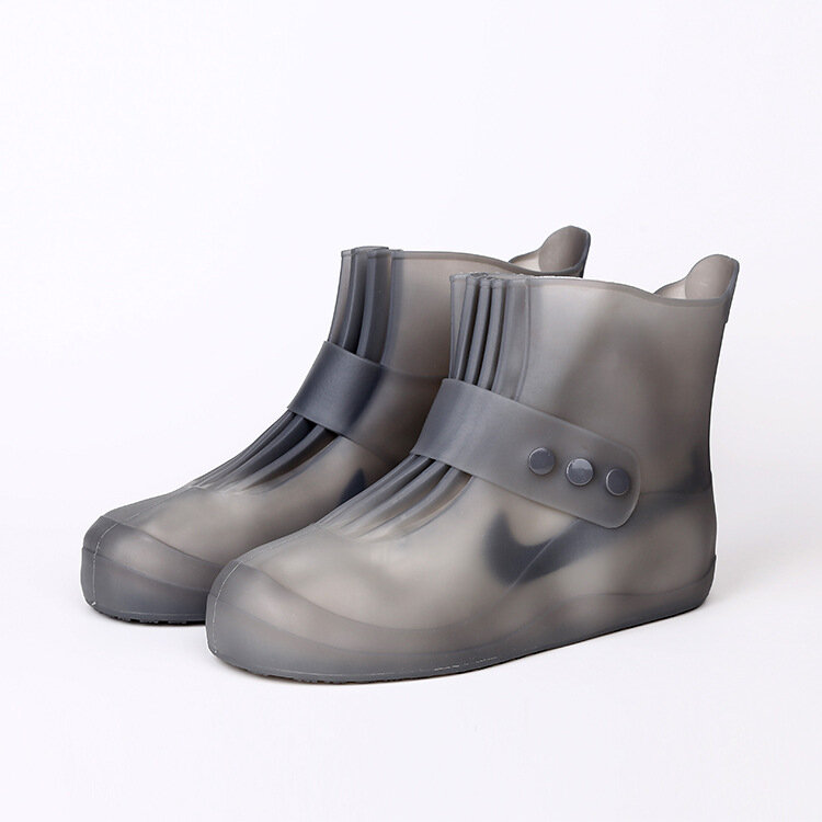 Silicone Shoe Cover Outdoor Home Waterproof And Dustproof Cover Rain Boot