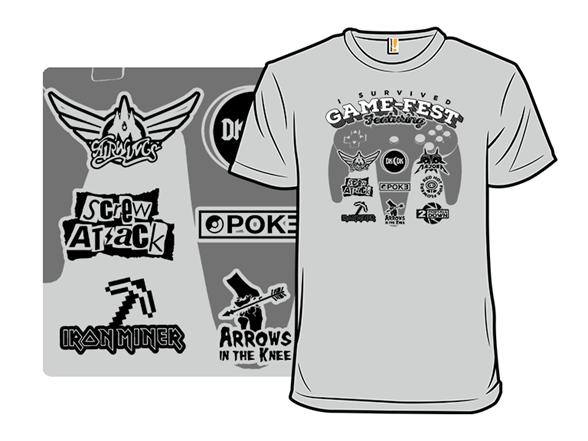Game-fest T Shirt