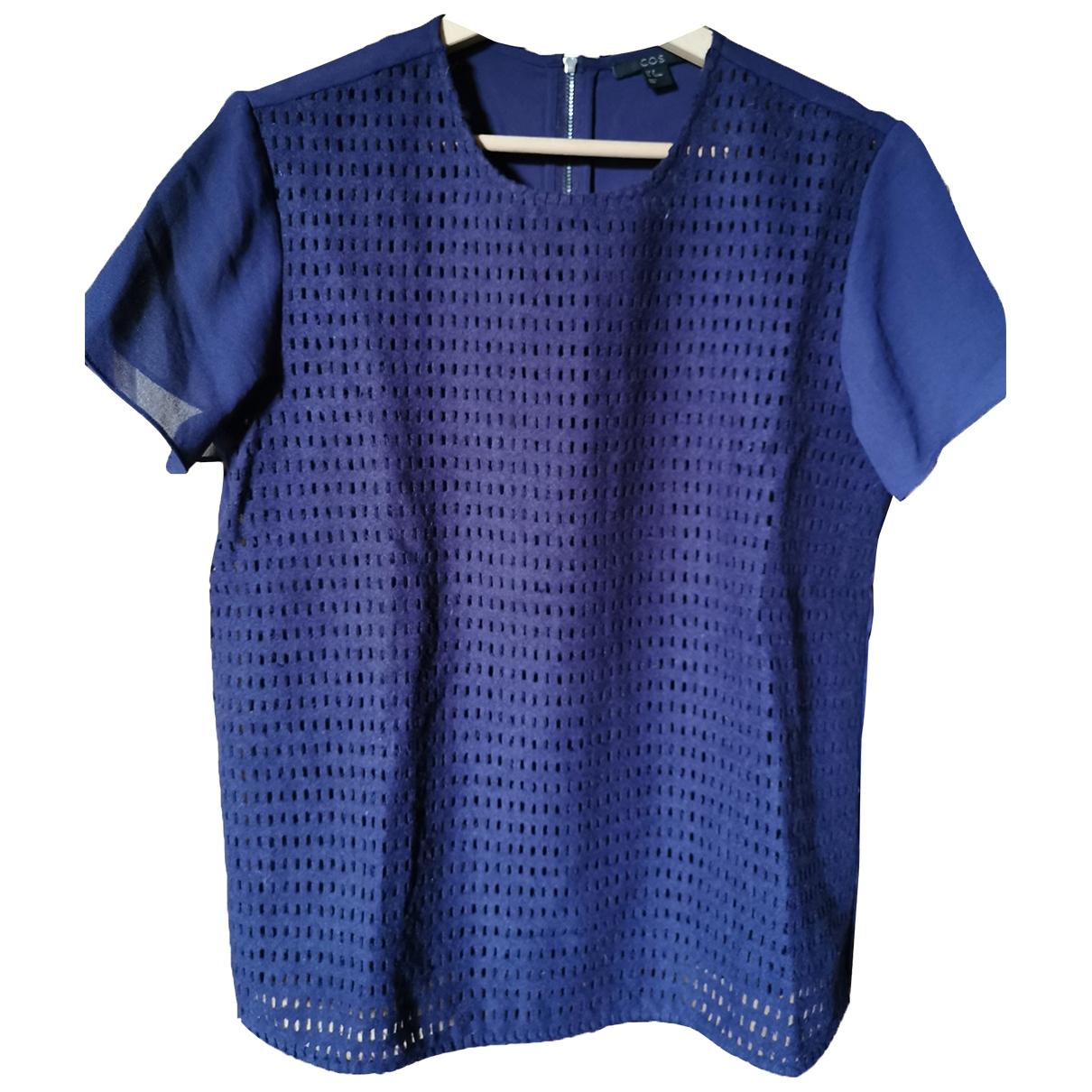 Cos \N Top in  Blau Wolle