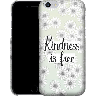 Apple iPhone 6 Plus Smartphone Huelle - Kindness is Free von Barlena
