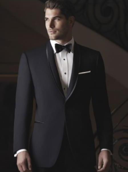 Waverly Black Tuxedo Jacket