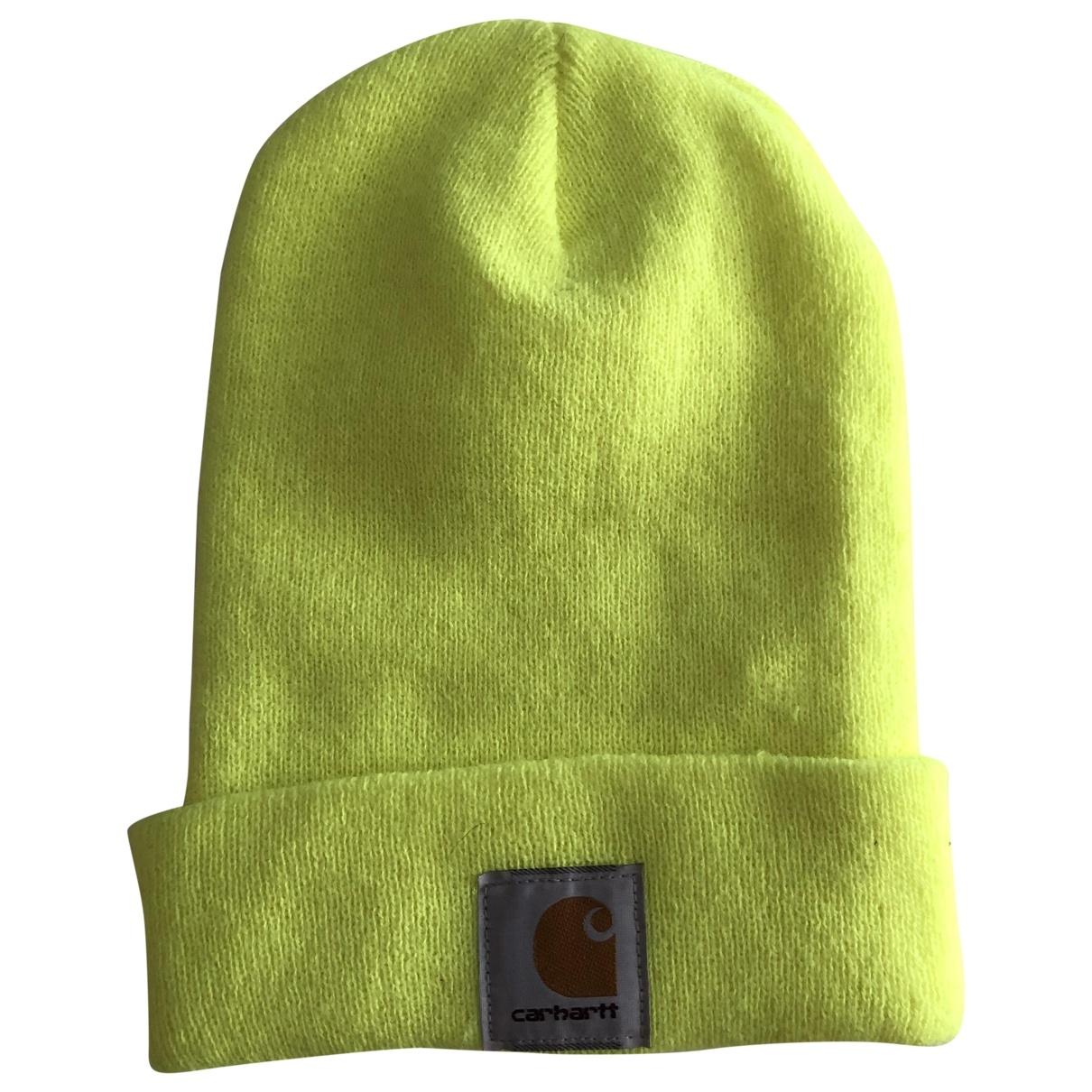 Carhartt - Chapeau & Bonnets   pour homme - jaune
