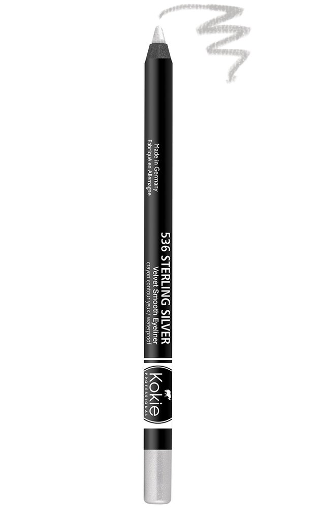 Velvet Smooth Eyeliner Pencil - Sterling Silver