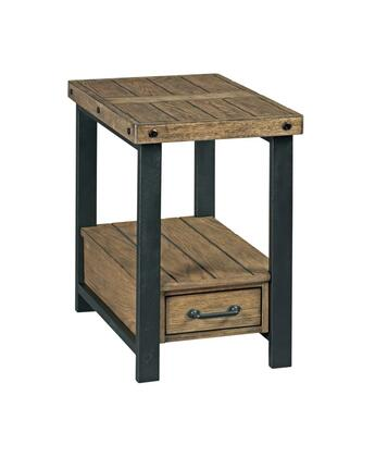 Workbench-Hamilton Collection 790-916 Chairside Table in Rustic