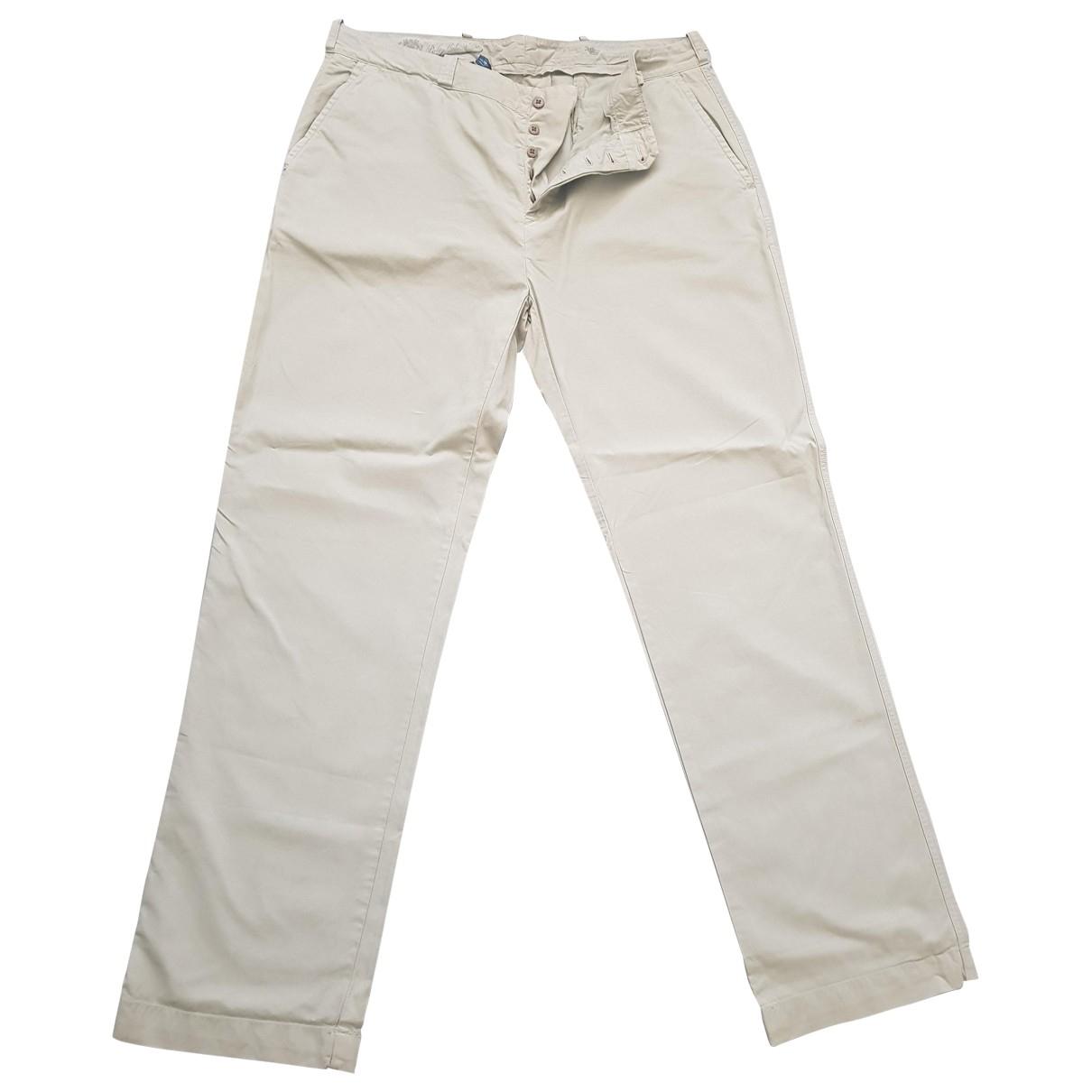 Pantalones en Algodon Caqui Polo Ralph Lauren