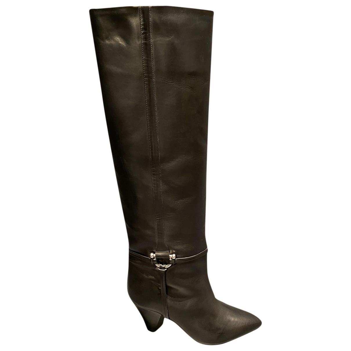 Isabel Marant - Bottes   pour femme en cuir - noir