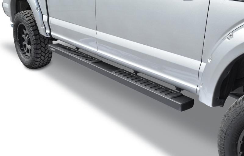 Go Rhino 6862415587T 6 OE Xtreme II Textured Black SideSteps Kit - 87 Long bars + Brackets Ford