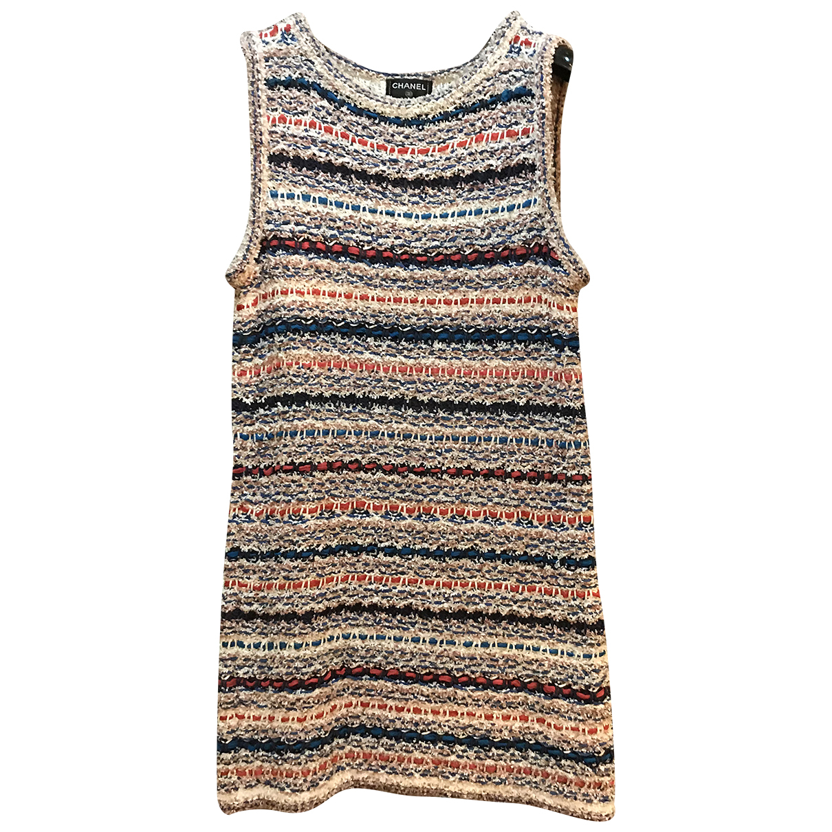 Chanel - Robe   pour femme en coton - multicolore