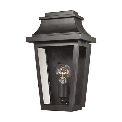 46190/1 Covina 1 Light Outdoor Sconce in Matte