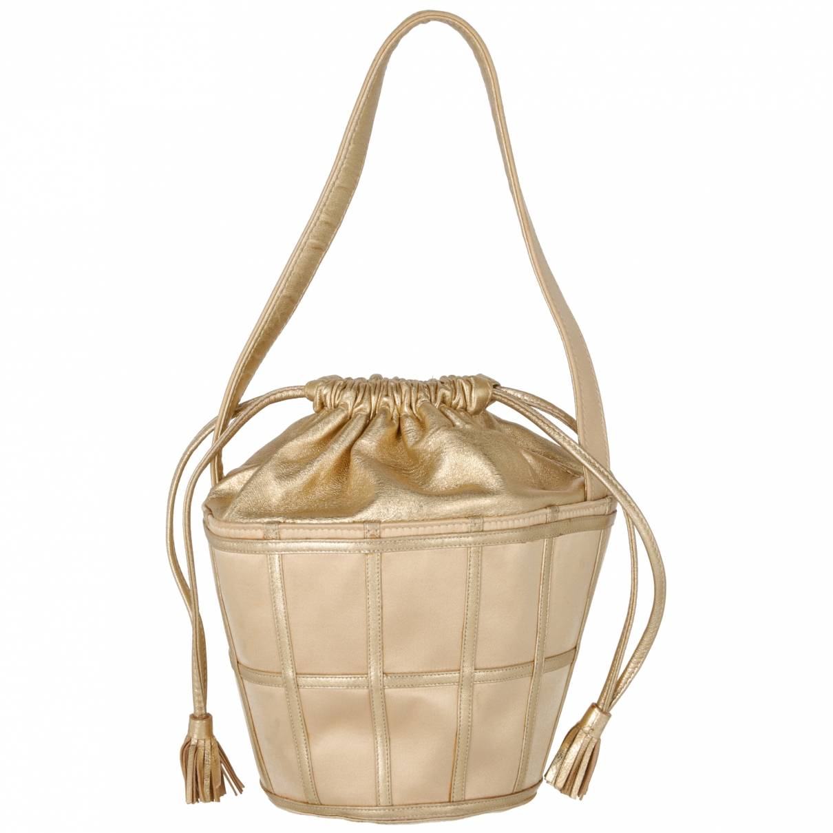 Rene Caovilla \N Gold Leather handbag for Women \N