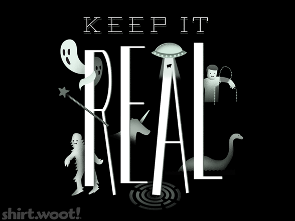 """keep It Real"" T Shirt"