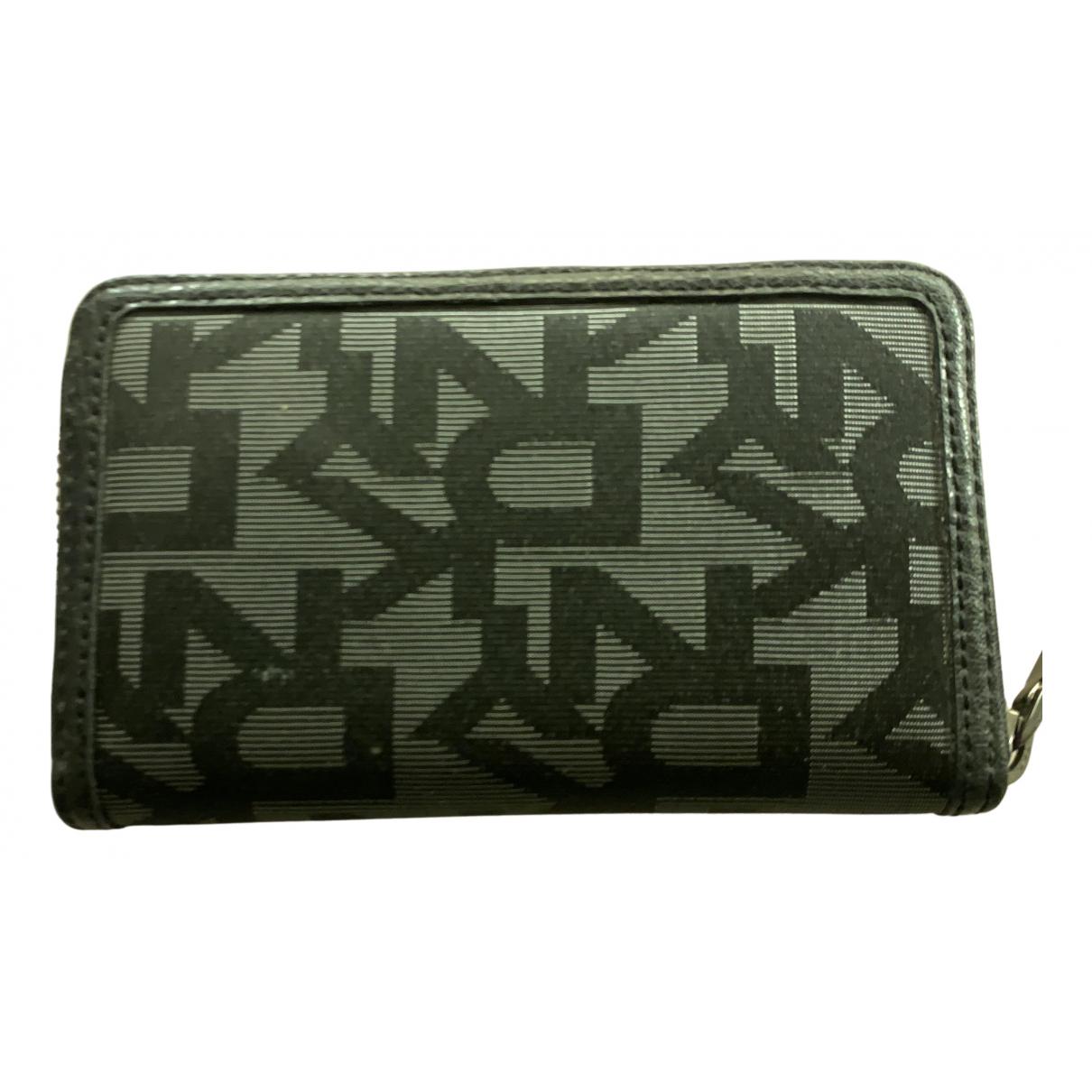 Dkny N Black Cloth wallet for Women N