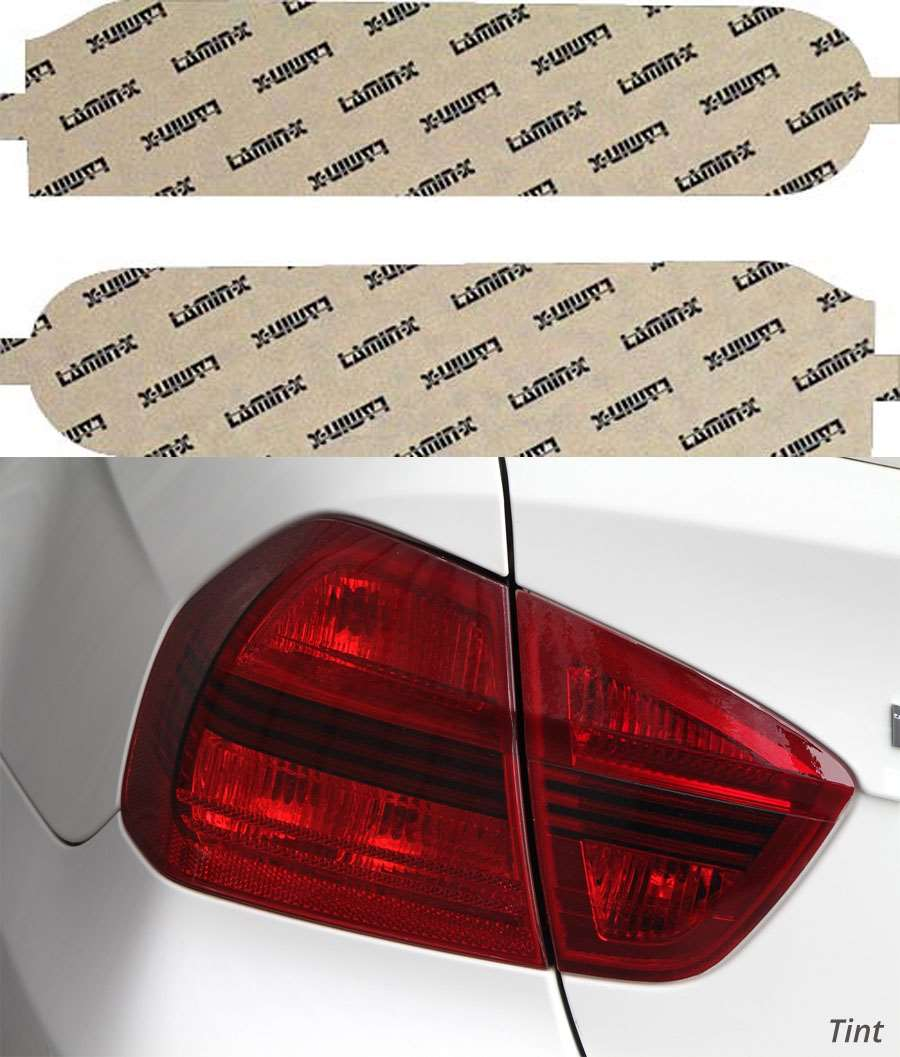 Nissan Cube 10-15 Tint Tail Light Covers Lamin-X N231T