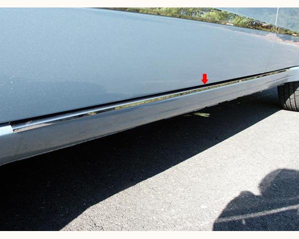 Quality Automotive Accessories 2-Piece Rocker Panel Accent Trim Kit Ford Focus 2009