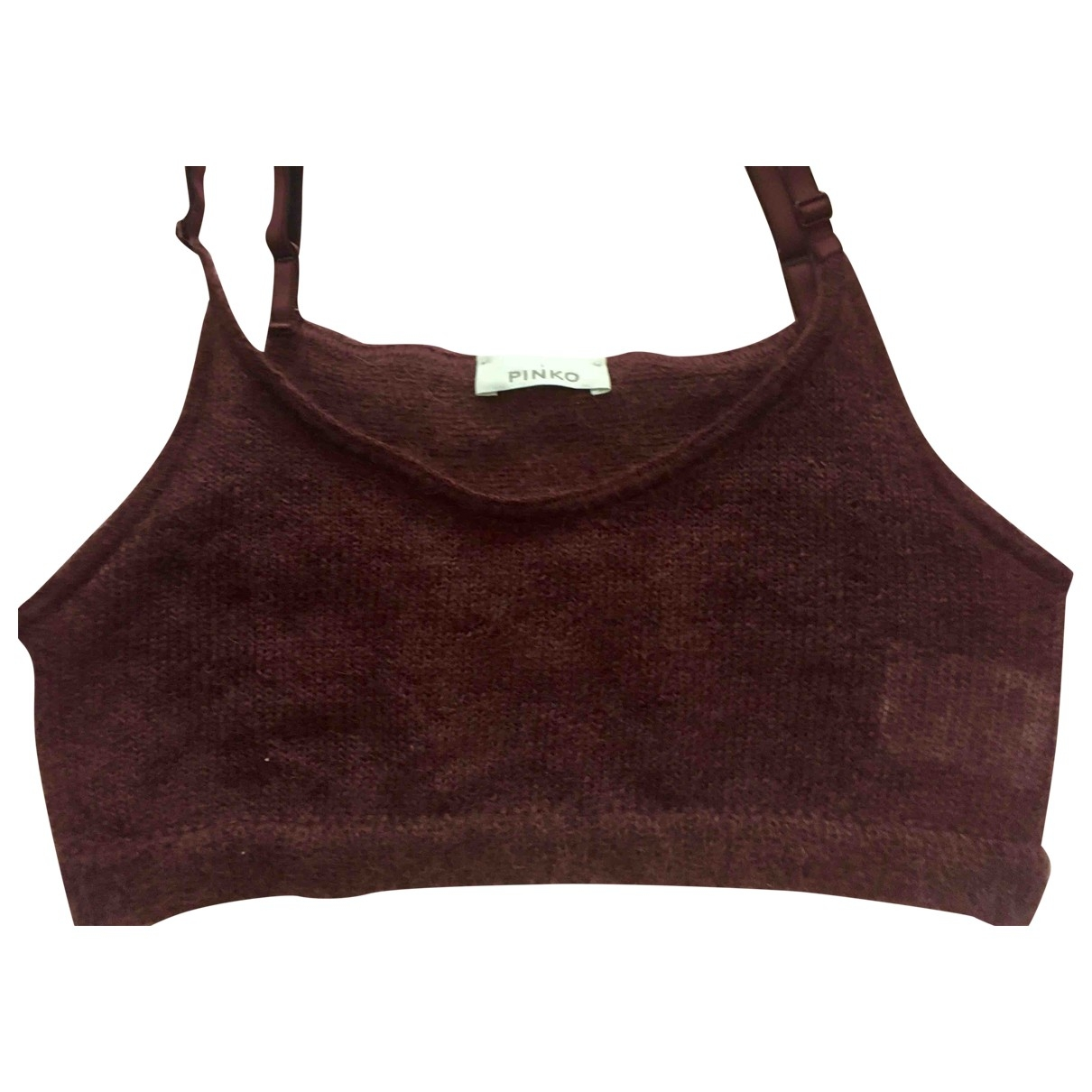 Pinko \N Burgundy Wool  top for Women 40 IT