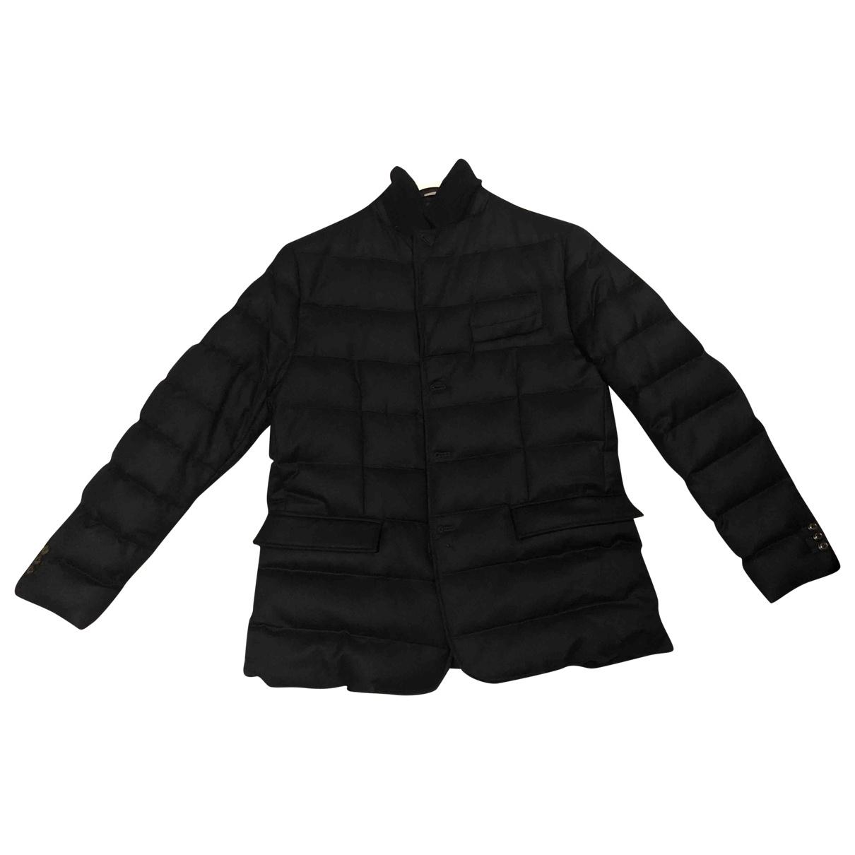 Moncler - Manteau Classic pour homme en laine - marine