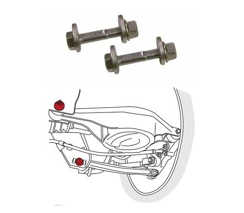 SPC Performance 72055 Rear Camber/Toe Cam Bolt Kit Nissan 350Z | Infiniti G35 2003-2008