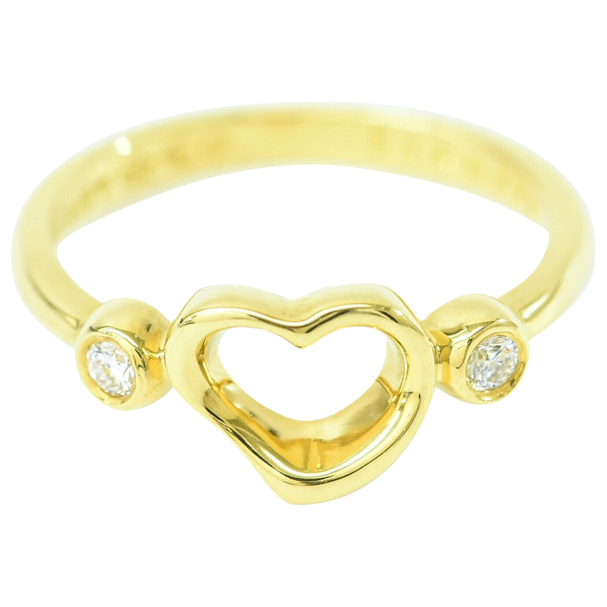 Tiffany & Co \N Yellow Yellow gold ring for Women 4 ½