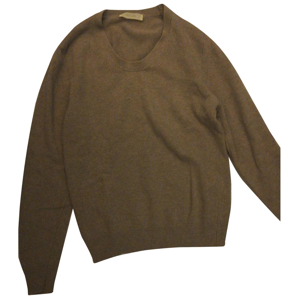 Mauro Grifoni \N Pullover.Westen.Sweatshirts  in  Beige Wolle