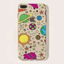 Planet Print iPhone Huelle