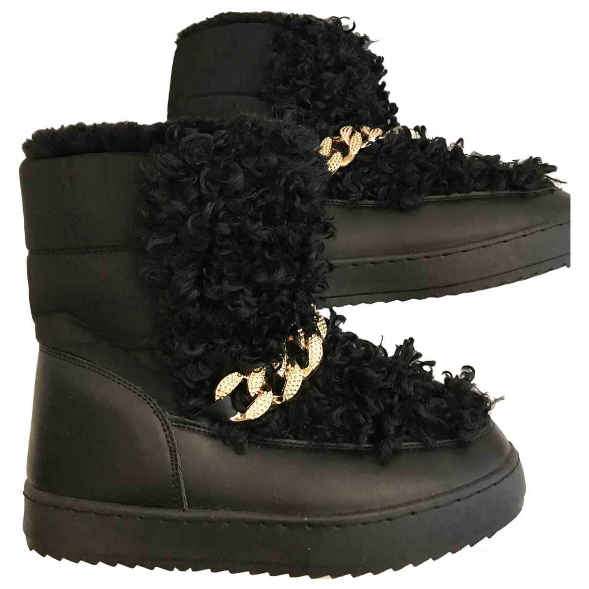 - Bottes   pour femme en caoutchouc - noir