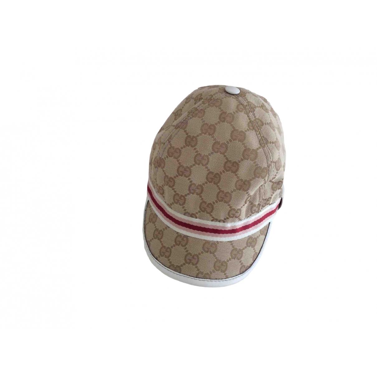 Gorra de Lona Gucci