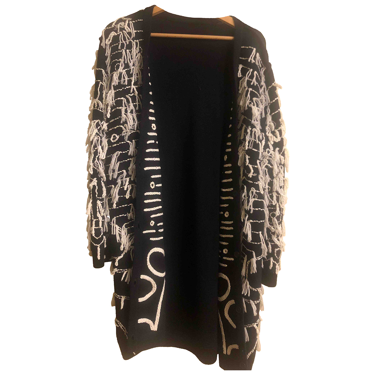 Max Mara N Black Wool coat for Women XL International