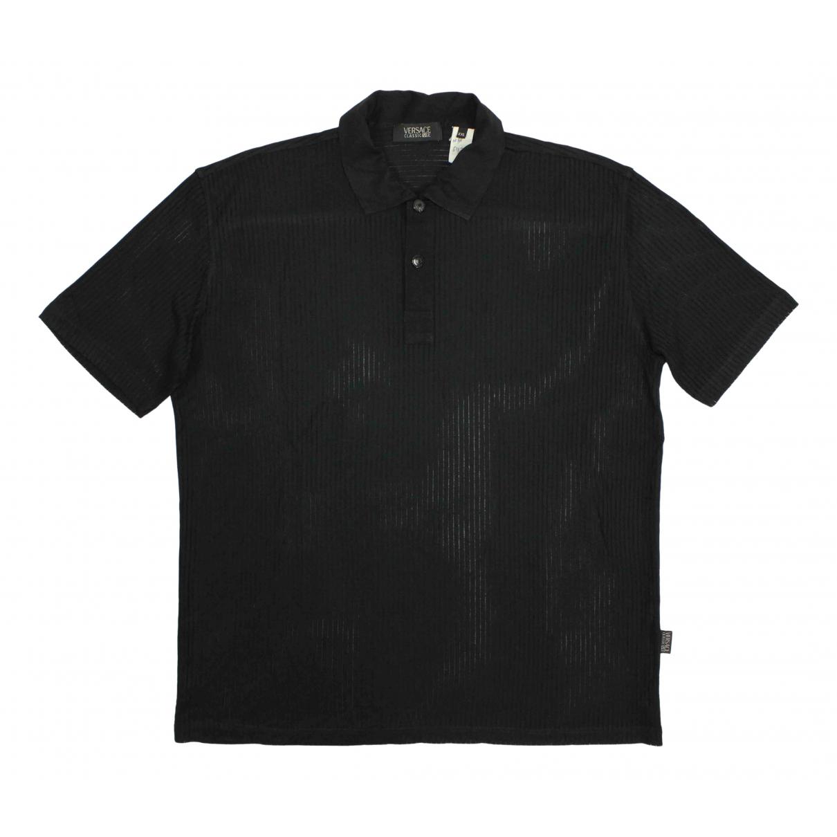 Versace - Polos   pour homme - noir