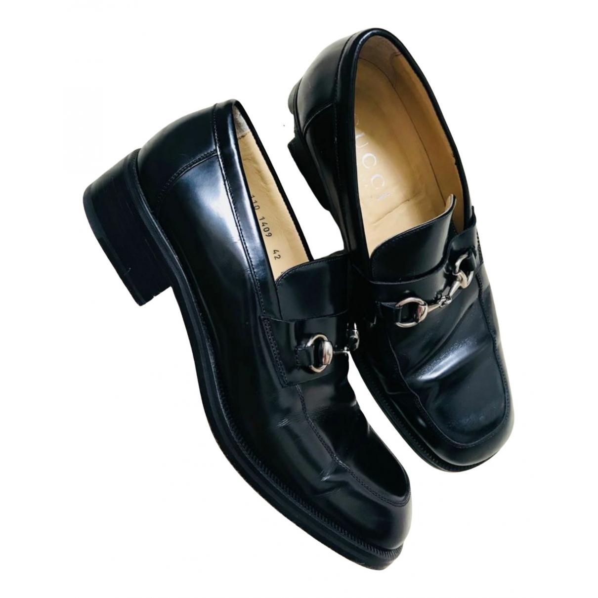 Gucci - Mocassins Brixton pour homme en cuir - noir