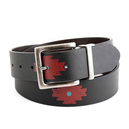 Arizona Aztec Print Reversible Belt, Small , Black