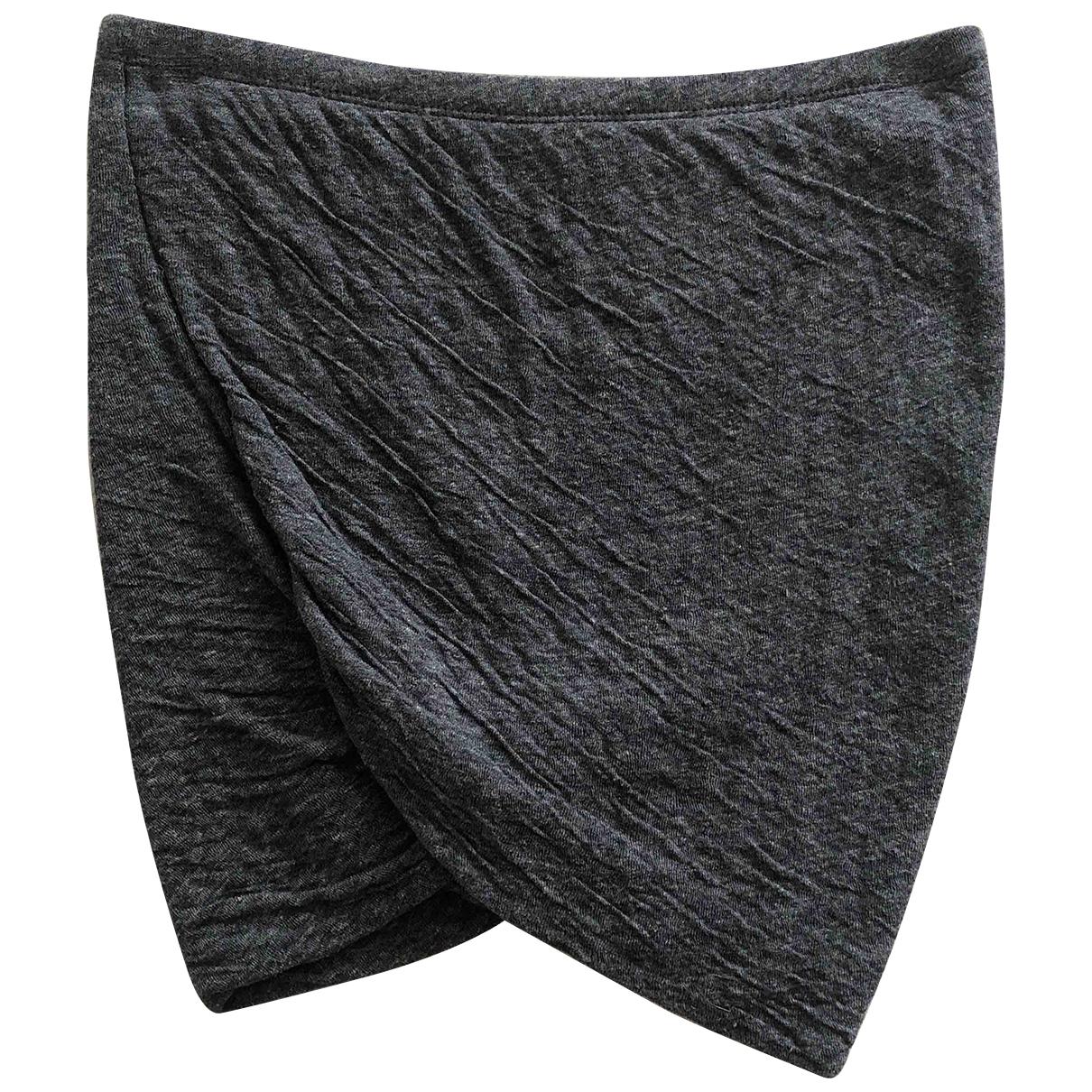 Isabel Marant Etoile \N Grey Cotton skirt for Women S International