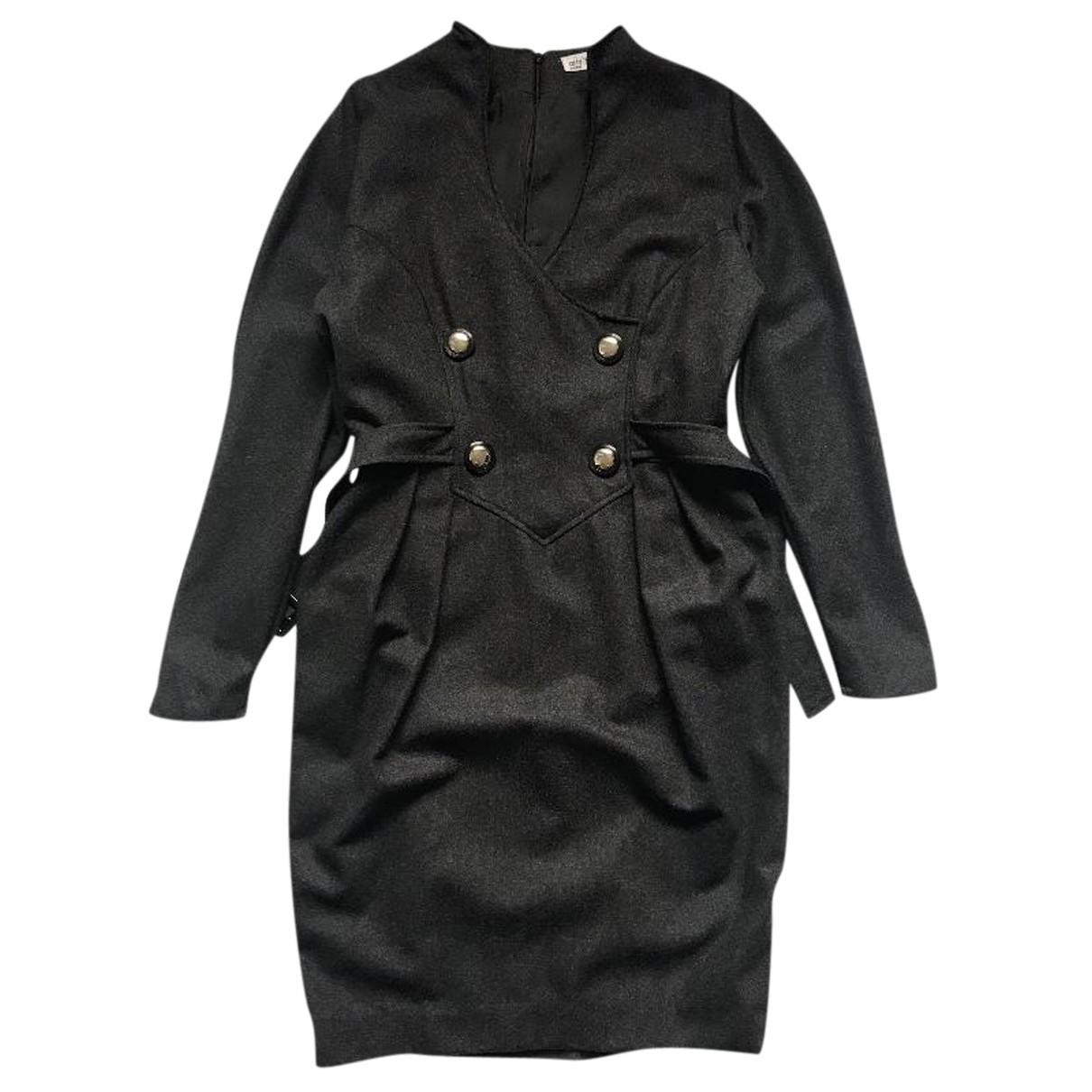 Guy Laroche \N Kleid in  Grau Wolle