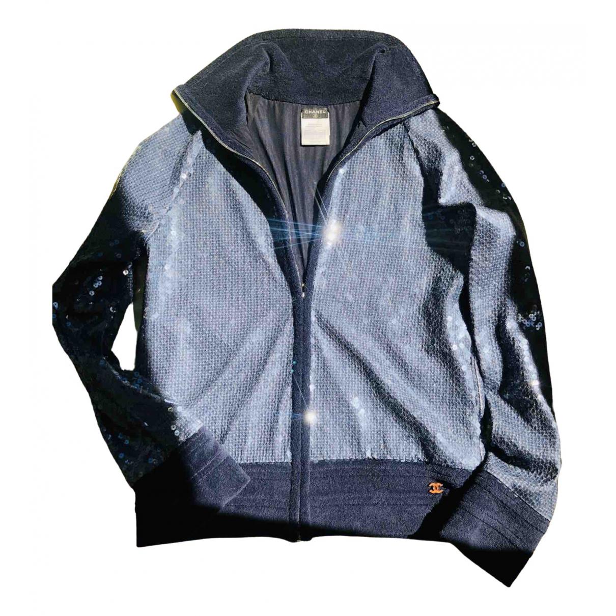 Chanel \N Blue Knitwear for Women 40 FR