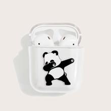 Funda de airpods con panda