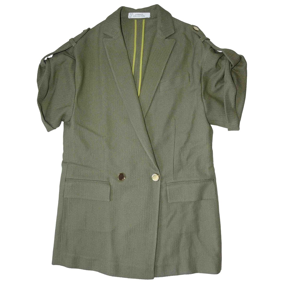 Versace - Veste   pour femme - vert