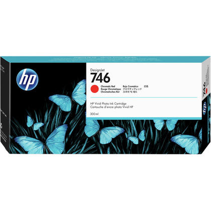 HP 746 P2V81A Original Chromatic Red Ink Cartridge