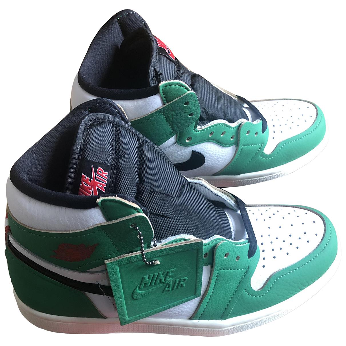 Jordan Air Jordan 1  Sneakers in  Bunt Kautschuk