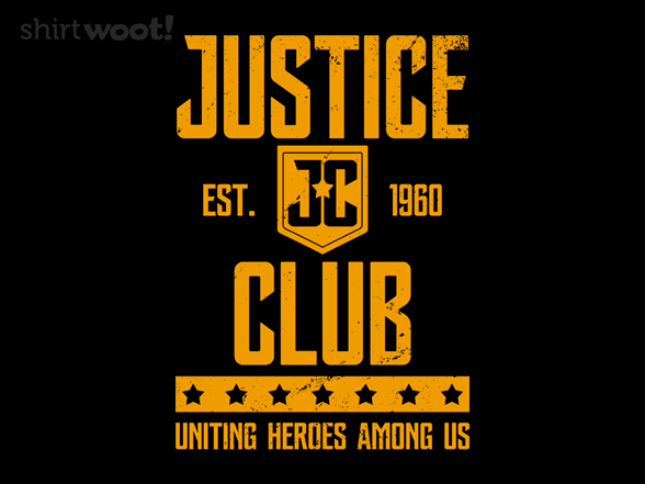 Justice Club T Shirt