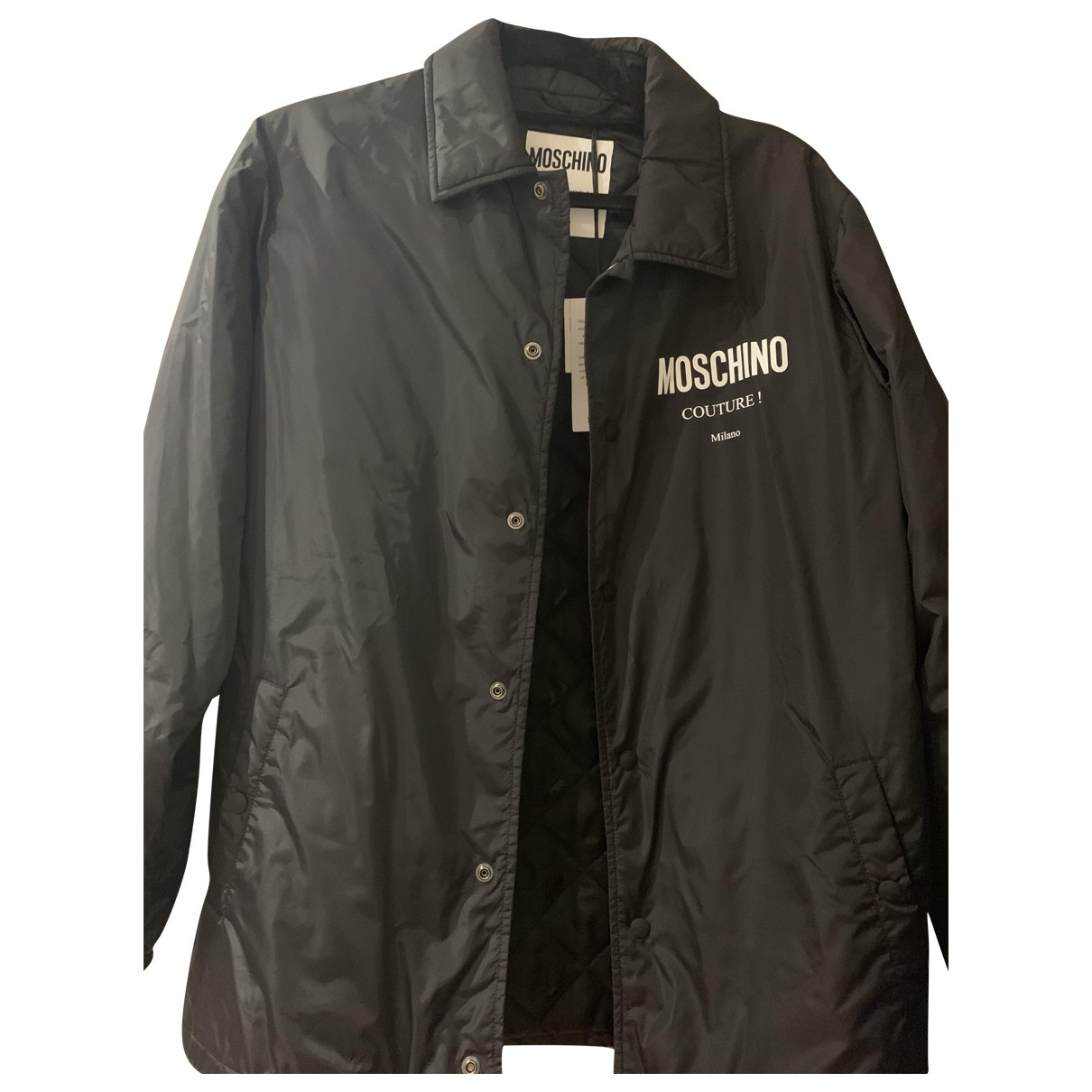 Moschino \N Black jacket  for Men 44 IT