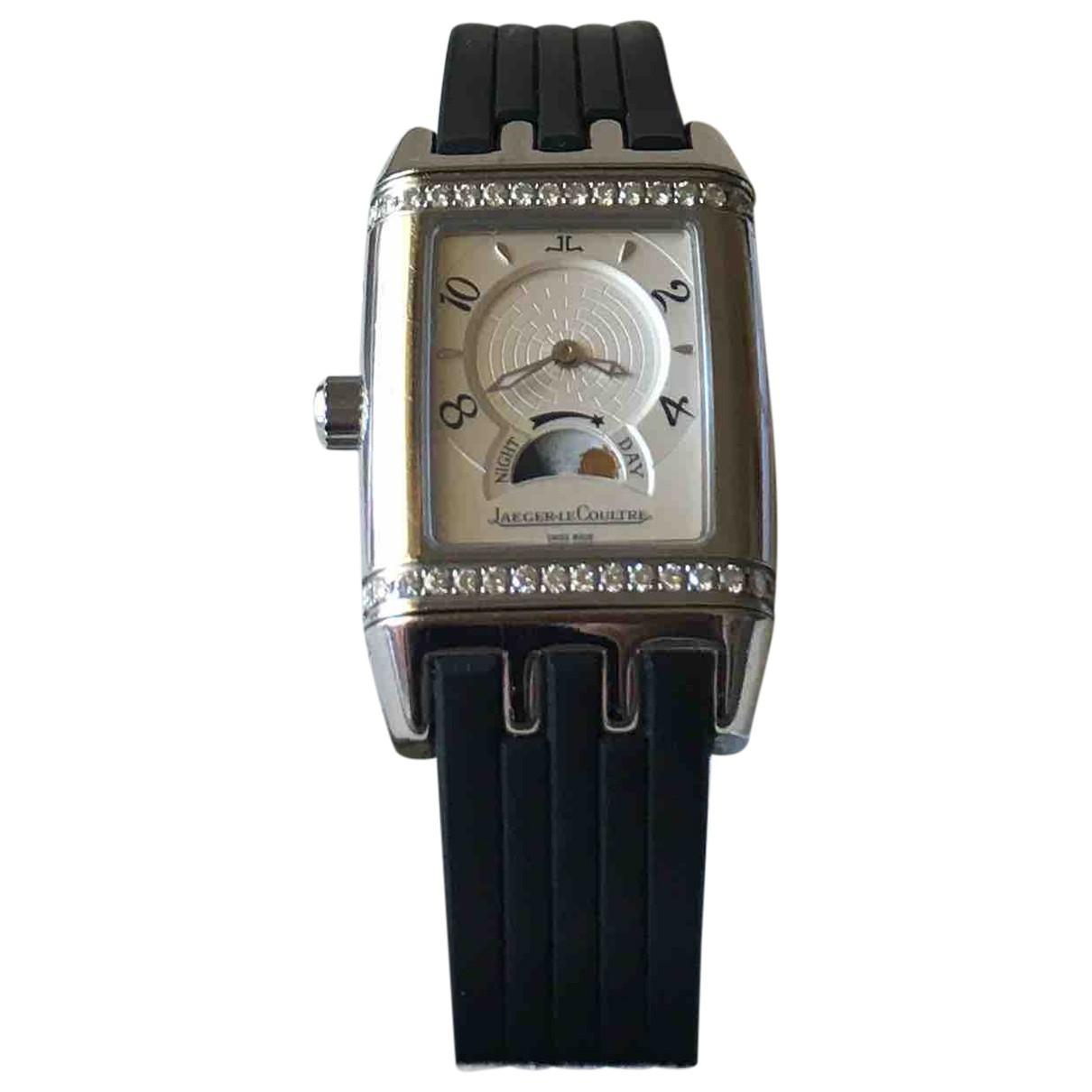 Jaeger-lecoultre Reverso Silver Steel watch for Men \N