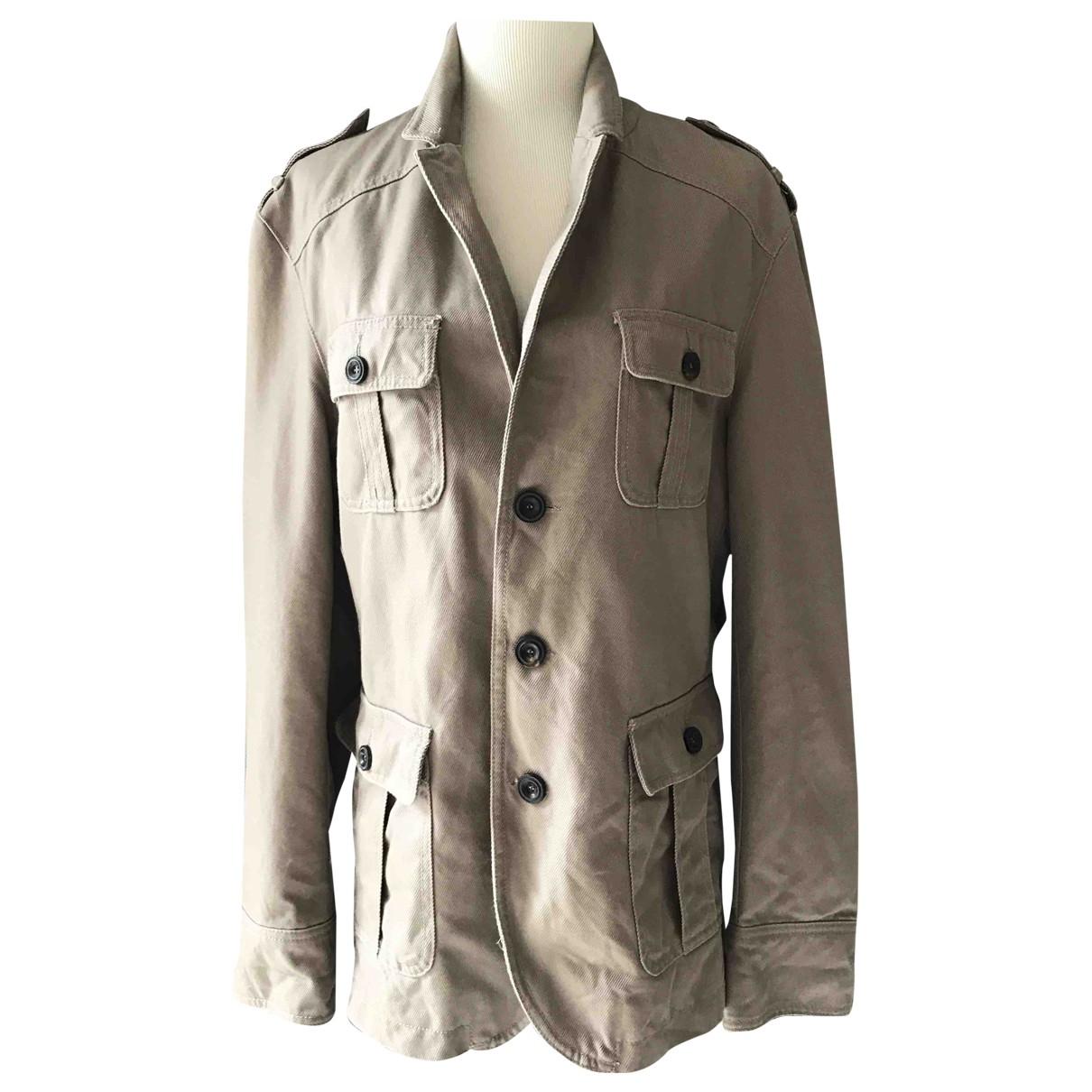 Zara - Vestes.Blousons   pour homme en lin - beige