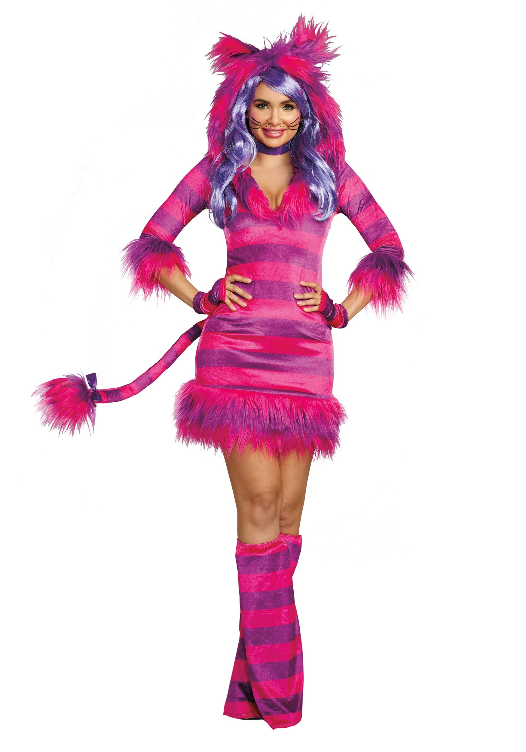 Wonderland Magic Cat Costume for Women
