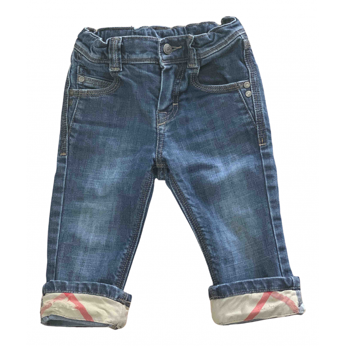 Burberry N Denim - Jeans Trousers for Kids 18 months - up to 81cm FR