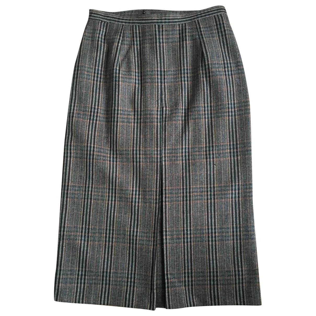 Non Signé / Unsigned \N Camel Wool skirt for Women 10 UK
