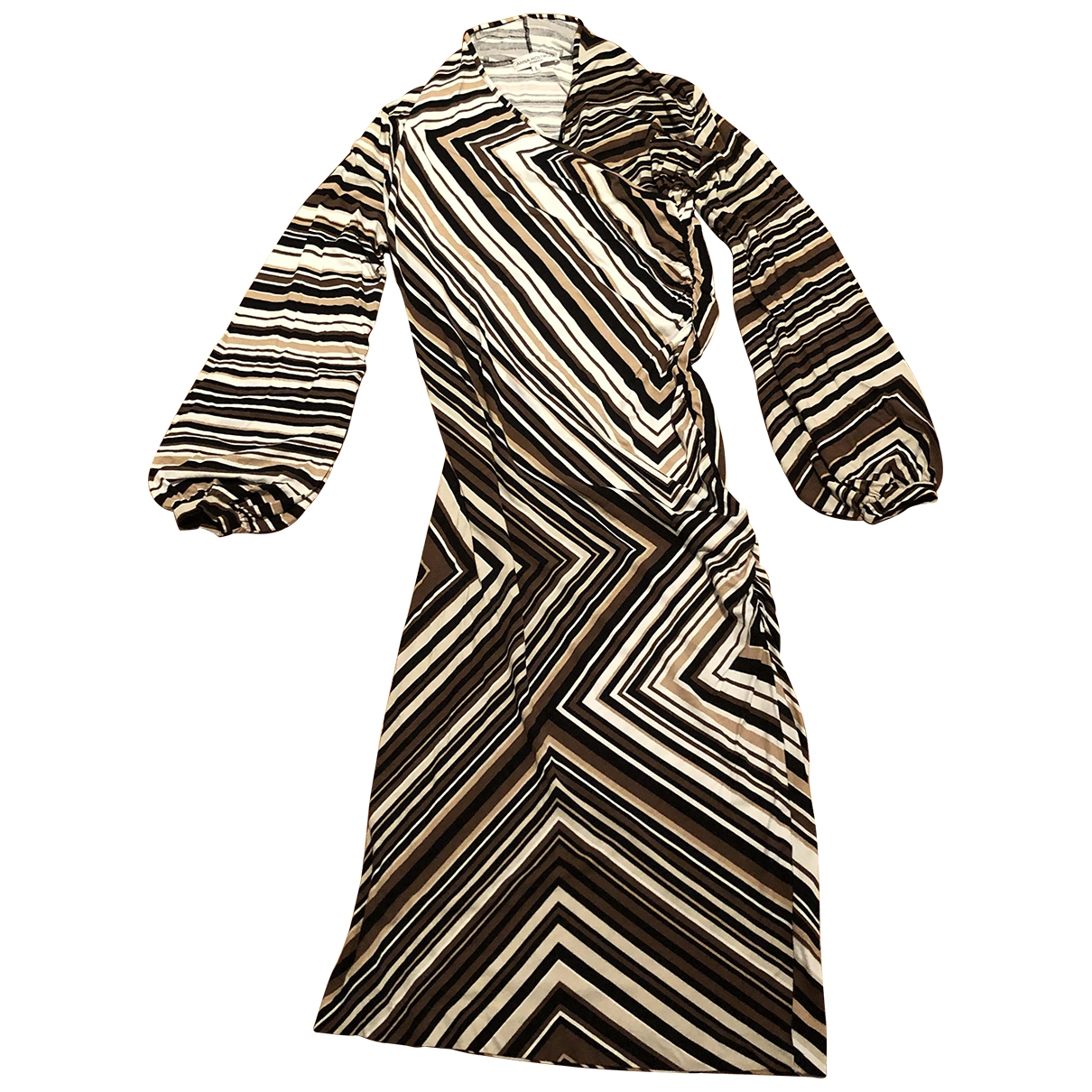 Non Signé / Unsigned \N Beige dress for Women L International