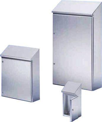 Rittal HD, 304 Stainless Steel Wall Box, IP66, 300mm x 601 mm x 610 mm, Unpainted