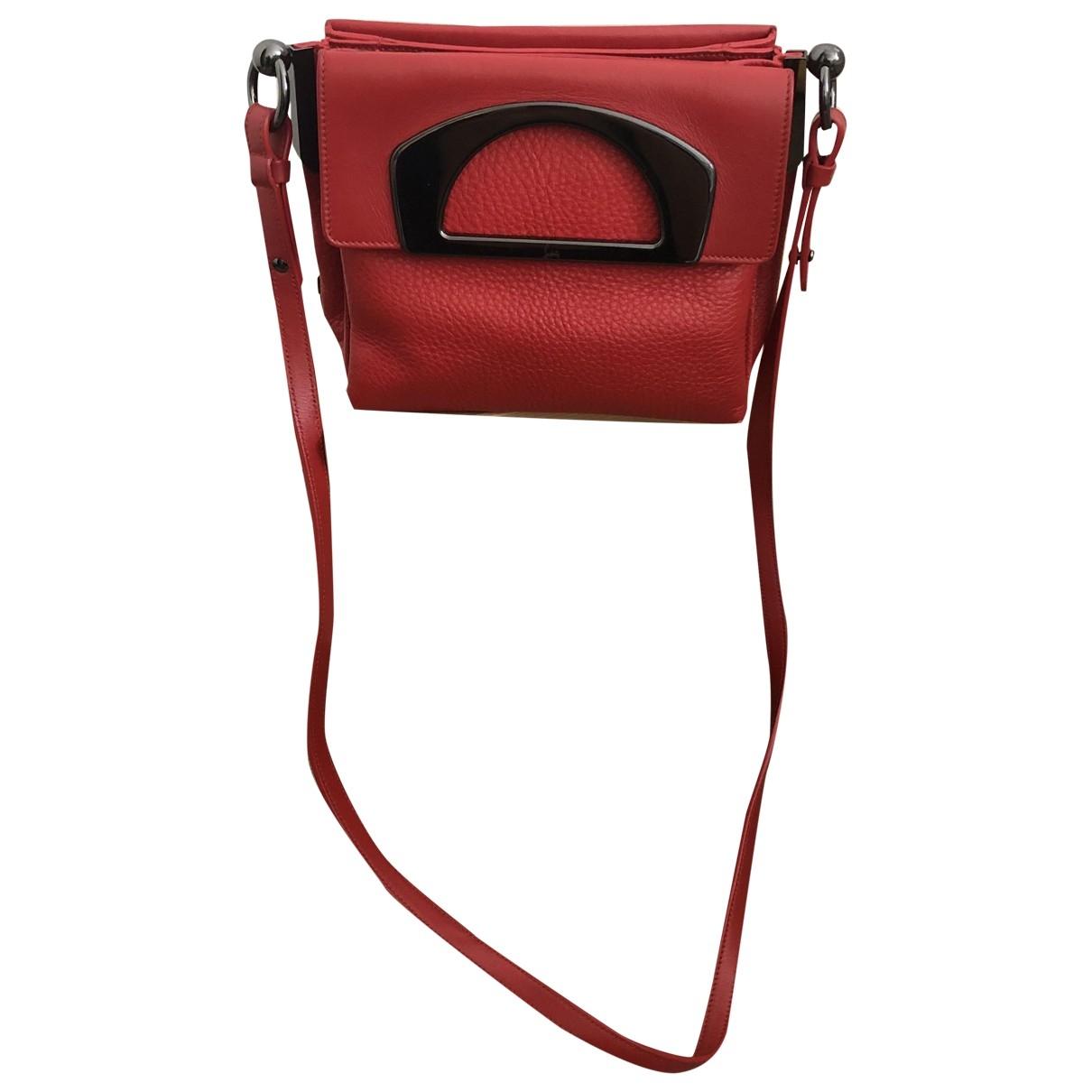 Christian Louboutin Passage Red Leather handbag for Women \N