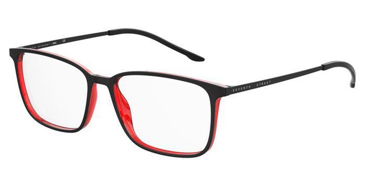 Seventh Street 7A061 OIT Men's Glasses Black Size 55 - Free Lenses - HSA/FSA Insurance - Blue Light Block Available