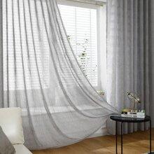 1 Stueck Einfarbiger Vorhang