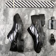Zapatos de vestir de hombres con puntada